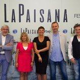 Photocall de 'La Paisana' en el FesTVal de Vitoria