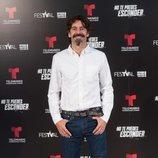 Eduardo Noriega en la presentación de 'No te puedes esconder'