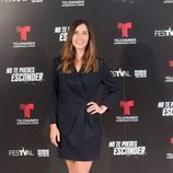 Bárbara Goenaga en la presentación de 'No te puedes esconder'