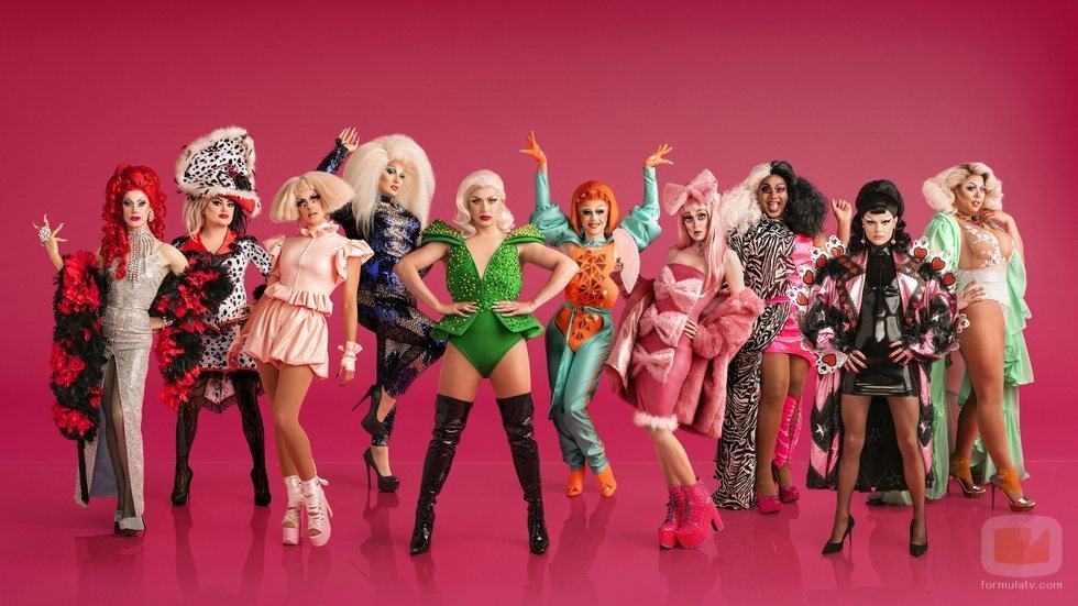 Todas las reinas de 'RuPaul's Drag Race UK'