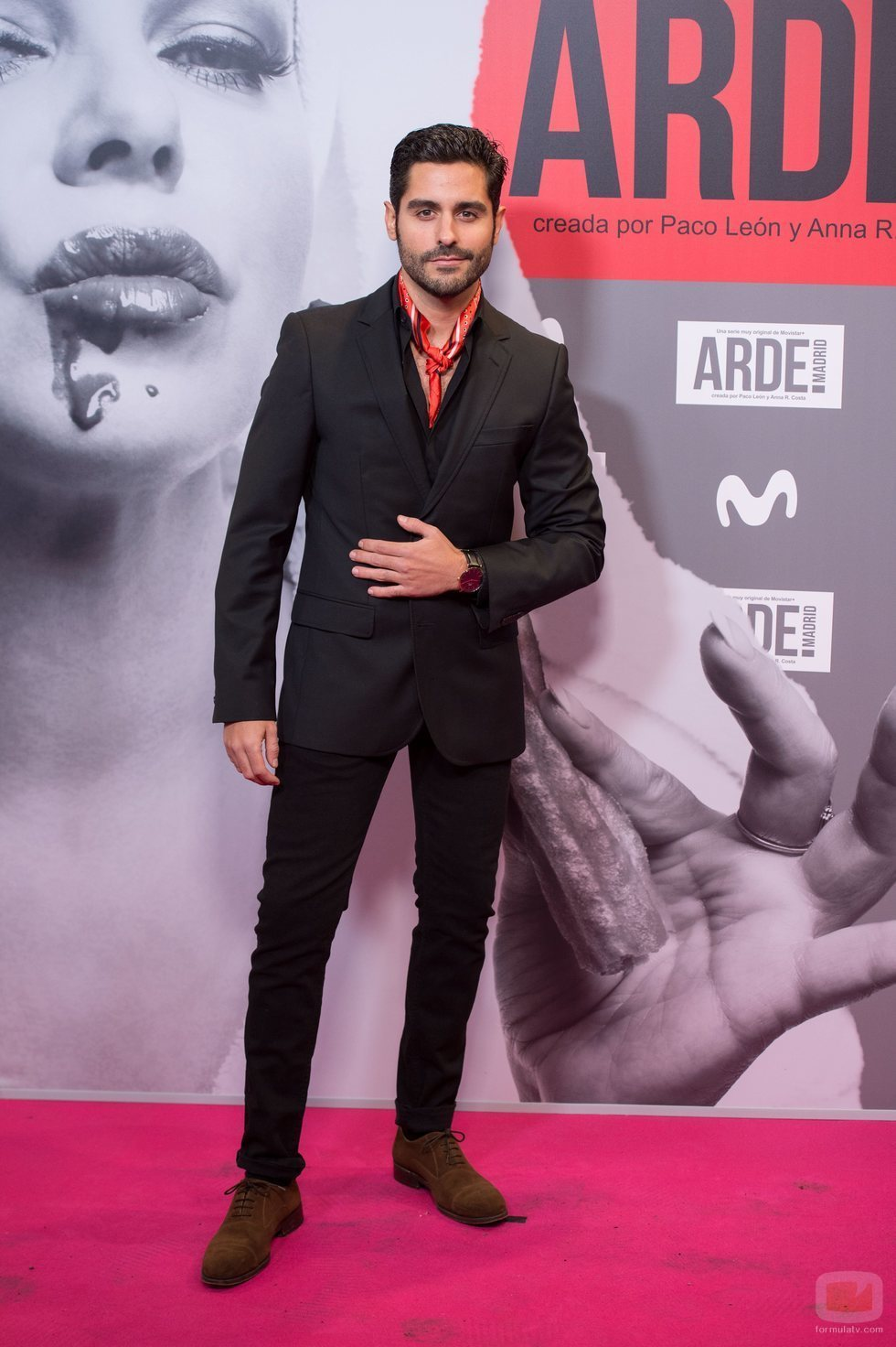 Miguel Diosdado, actor de 'Las chicas del cable'