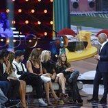 Jorge Javier Váquez charla con Rocío Flores, en la Gala 1 de 'GH VIP 7'