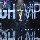 Jorge Javier Vázquez, en el plató de 'GH VIP 7' durante la Gala 1