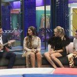 Gianmarco Onestini, Noemí Salazar, Alba Carrillo y El Cejas en 'GH VIP 7'