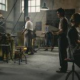 Pablo Centeno, trabajando en la temporada 12 de 'El secreto de Puente Viejo'