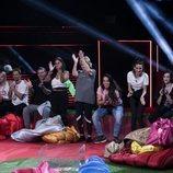 Los concursantes de 'GH VIP 7' aplauden durante la prueba de la Gala 2