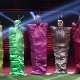 Adara, Anabel Pantoja, Estela Grande, Irene Junquera y Antonio David Flores, en la Gala 2 de 'GH VIP 7'