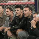 El Maestro Joao, Hugo Castejón, Kiko Jiménez, Dinio y Antonio David Flores, en la Gala 2 de 'GH VIP 7'