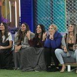 Estela Grande, Noemí Salazar, Irene Junquera, Alba Carrillo y Nuria Martínez, en la Gala 2 de 'GH VIP 7'