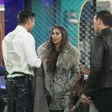 Noemí Salazar se sorprende al ver a Kiko mojado, en la Gala 2 de 'GH VIP 7'
