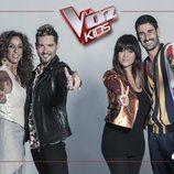 Coaches de 'La Voz Kids', en Antena 3