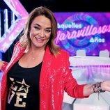 Toñi Moreno, presentadora de 'Aquellos maravillosos años' en Telemadrid