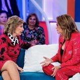 Toñi Moreno y María Teresa Campos charlan en 'Aquellos maravillosos años'