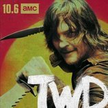 Daryl Dixon, en un póster promocional de la temporada 10 de 'The Walking Dead'