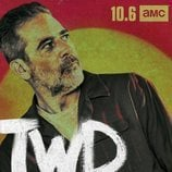 Negan, en un póster promocional de la temporada 10 de 'The Walking Dead'