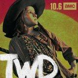 Judith Grimes, en un póster promocional de la temporada 10 de 'The Walking Dead'