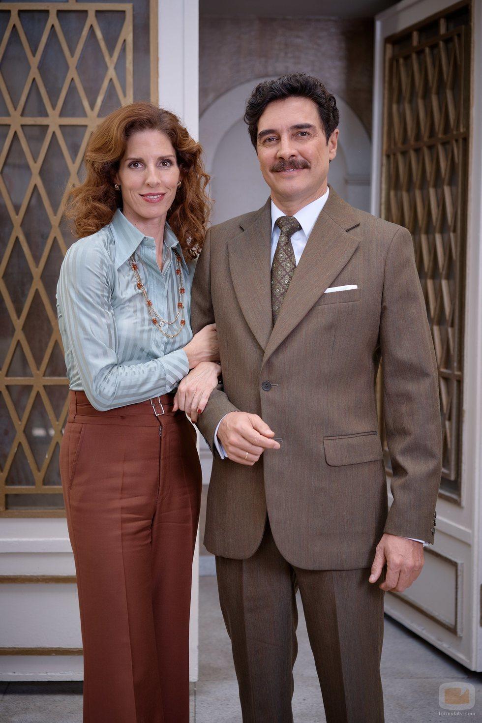 Beatriz Argüello y José Manuel Seda son Julia y Armando en 'Amar es para siempre'