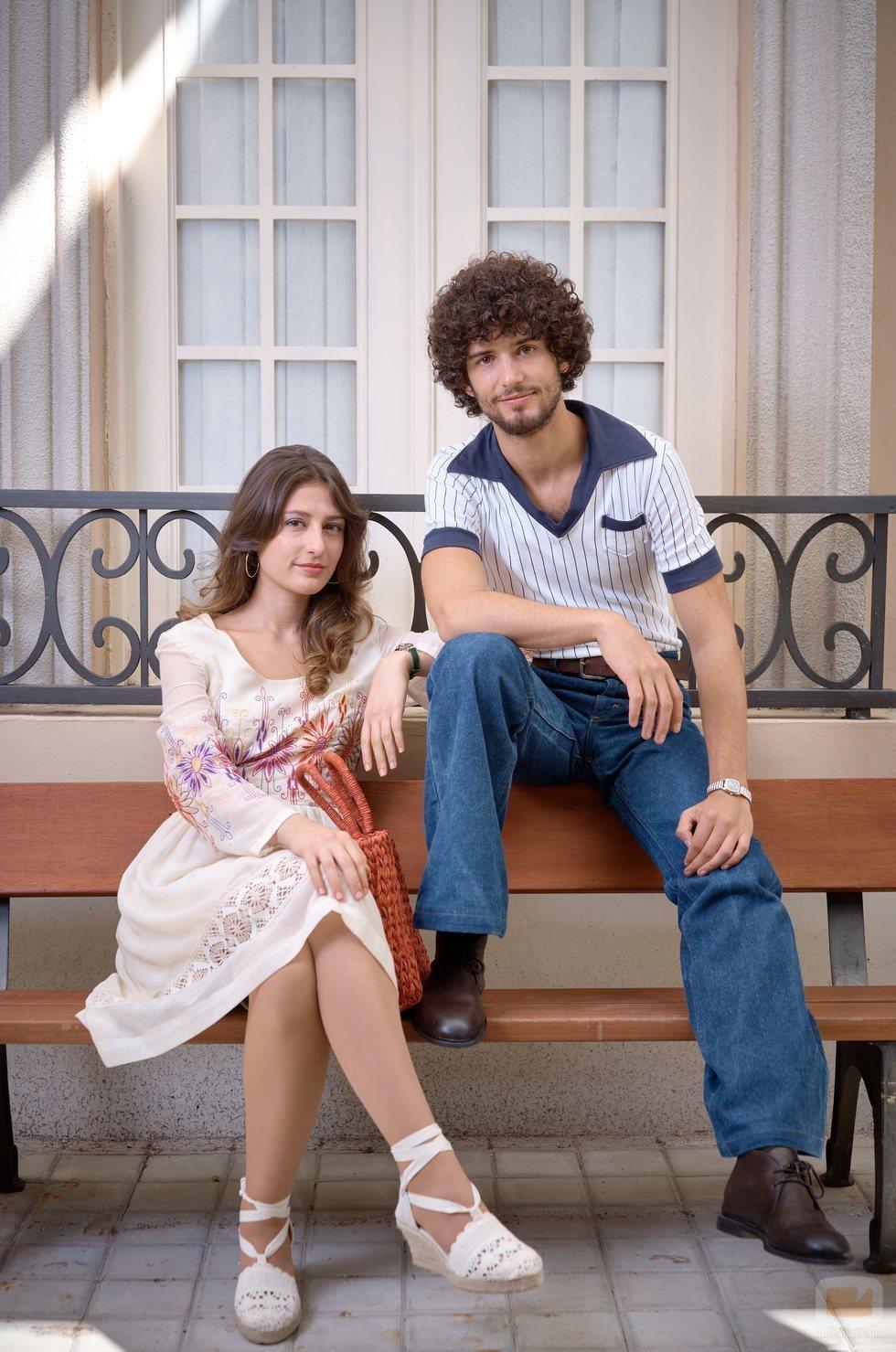Juan de Vera y Alba Gutiérrez son Fede y Marina en 'Amar es para siempre'