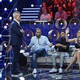 Jordi González junto a los colaboradores de 'GH VIP 7: el debate'