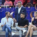 Jordi González y los colaboradores de  'GH VIP 7: el debate'