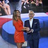 Jordi González y Lara Álvarez en 'GH VIP 7: el debate'