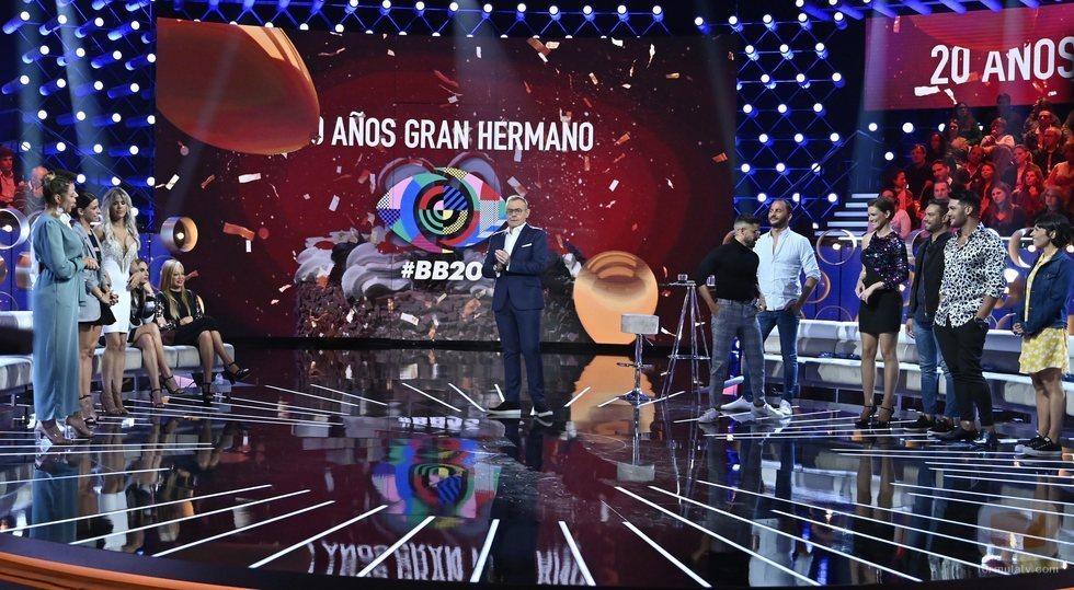 'GH VIP 7: el debate' celebra los veinte años del formato 'Gran Hermano'