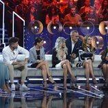 Jordi González, acompañado por los colaboradores de 'GH VIP 7: el debate'