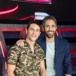 Roberto Leal y Alejo Sauras en 'Vaya crack'