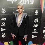 Alba Reche en la cena de nominados de Los40 Music Awards