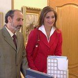 Assumpta Serna y José Luís Gil en 'Aquí no hay quien viva'