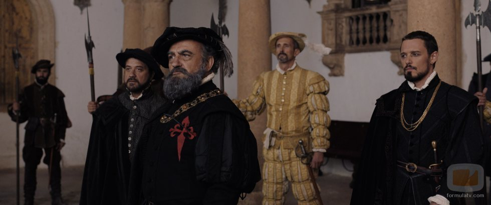 Francesc Orella interpreta a Francisco Pizarro en 'Inés del alma mía'