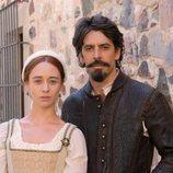 Eduardo Noriega y Elena Rivera en 'Inés del alma mía'