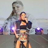 """Isa P canta por primera vez """"Ahora estoy mejor"""" en directo"""