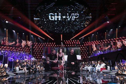 Plató de 'GH VIP 7' en la gala 3