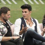 Antonio David Flores y Kiko Jiménez en la gala 3 de 'GH VIP 7'