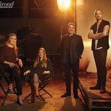 Posado del equipo de 'El Camino: Una película de Breaking Bad'