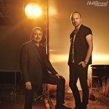 Vince Gilligan y Aaron Paul, director y protagonista de 'El Camino: Una película de Breaking Bad'
