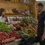 Lola Marceli y Francesc Cuéllar son madre e hijo en 'Mercado central'