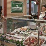 Ana Rayo y Begoña Maestre en 'Mercado central'