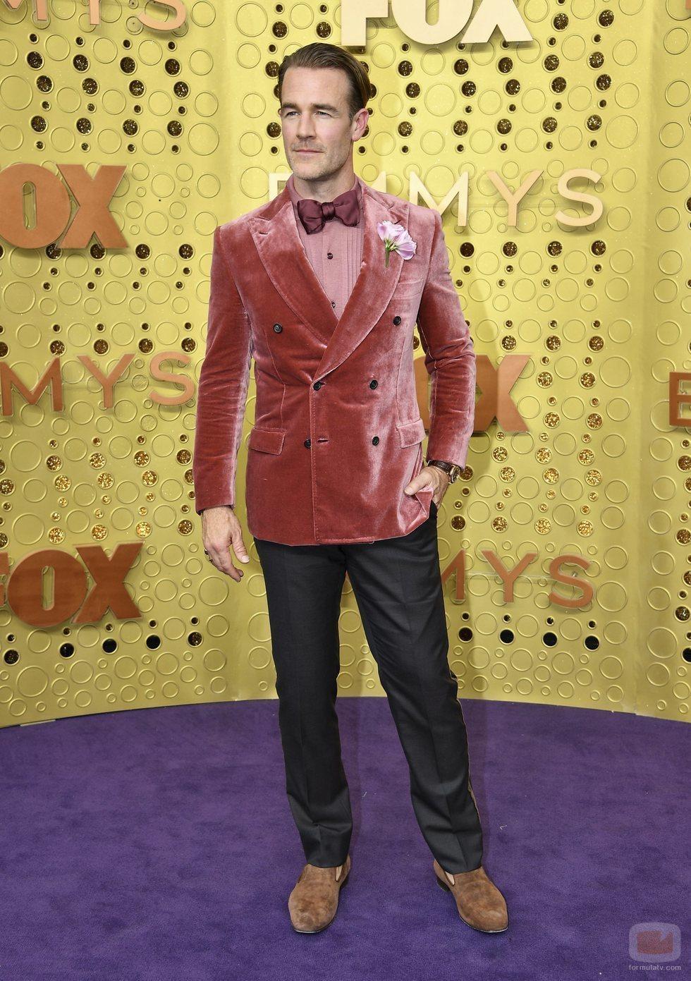James Van Der Beek, en la alfombra roja de los Emmy 2019