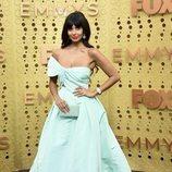Jameela Jamil, en la alfombra roja de los premios Emmy 2019
