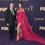 Michael Douglas y Catherine Zeta Jones, en la alfombra roja de los Emmy 2019