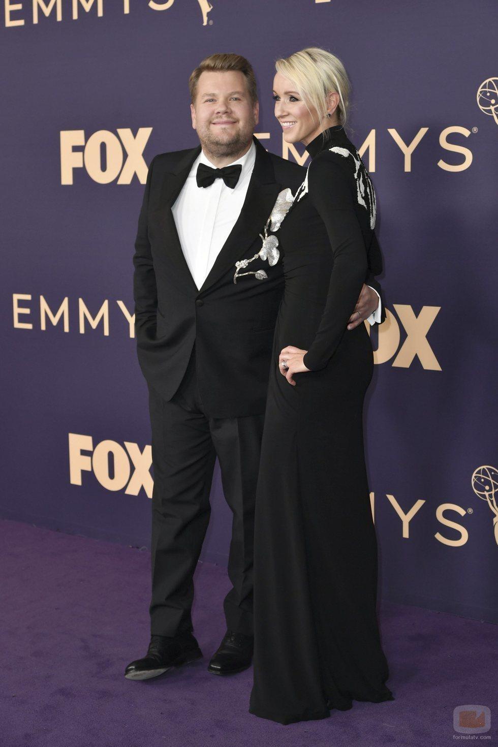 James Corden, en la alfombra roja de los Emmy 2019