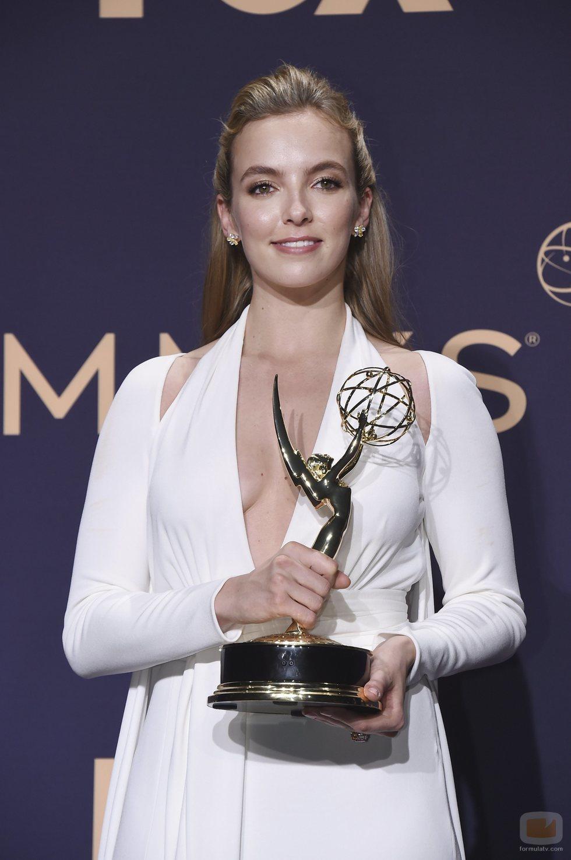 Jodie Comer, ganadora del Emmy 2019 a mejor actriz de drama