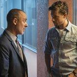 Javier Gutiérrez y Jan Cornet en la tercera temporada de 'Estoy vivo'