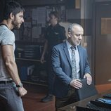 Alfonso Bassave y Javier Gutiérrez en la tercera temporada de 'Estoy vivo'