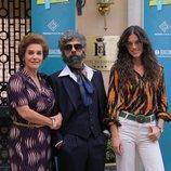 Anabel Alonso, Fede Celada y Sara Moraleda, en 'Amar es para siempre'