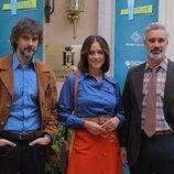 David Janer, Luz Valdenebro y Adrià Collado son tres abogados en 'Amar es para siempre'