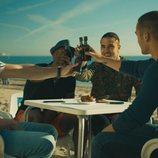 Los 'Toy Boy' de Antena 3 reunidos en la playa