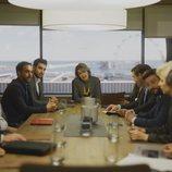 María Pujalte en una reunión del bufete de abogados de 'Toy Boy'